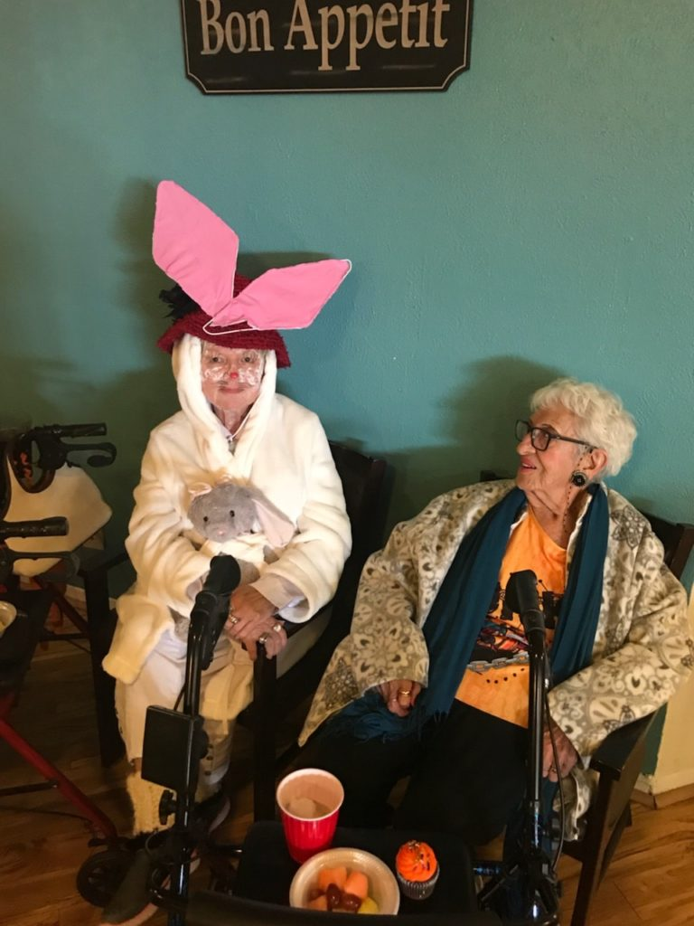 assisted living albuquerque halloween bunny