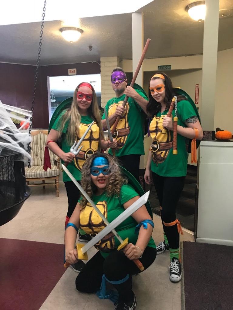 camino retirement assisted livnig albuquerque halloween ninja turtles