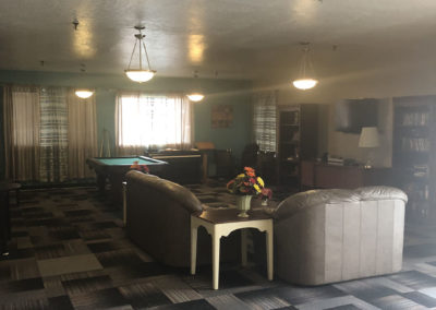 camino retirement assisted living albuquerque front recreation room