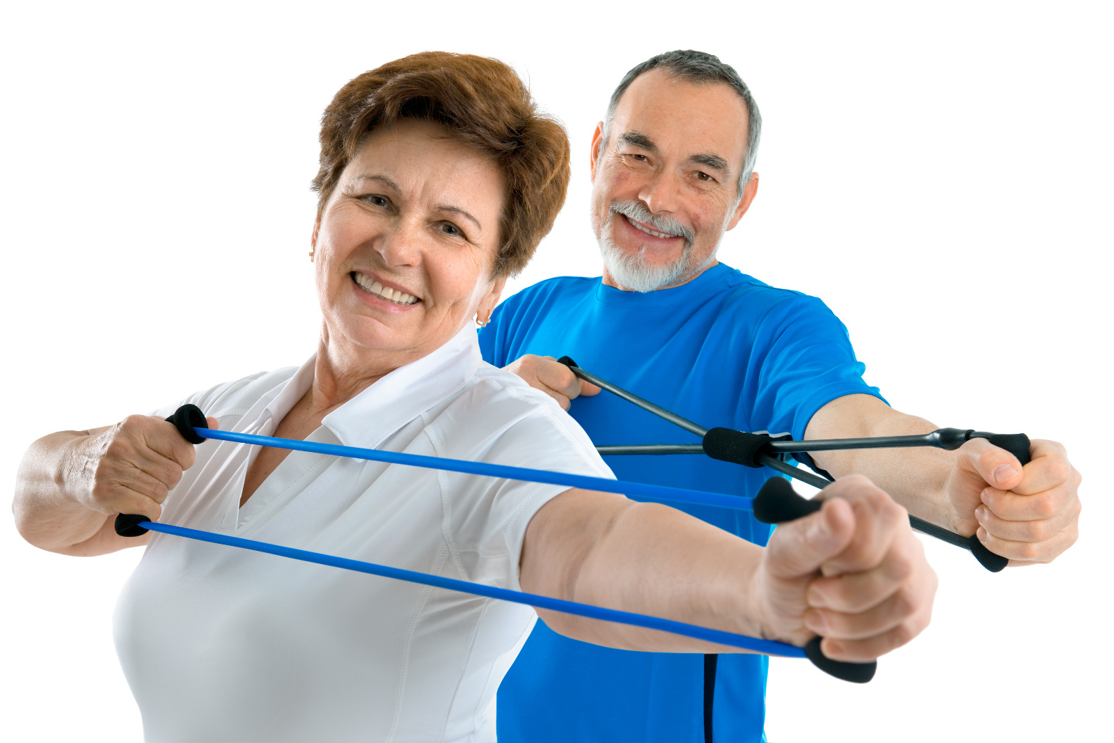 image relating to Printable Resistance Band Exercises for Seniors referred to as 9 Basic Resistance Band Workouts for Seniors Camino