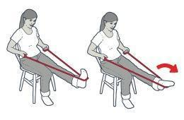 image regarding Printable Resistance Band Exercises for Seniors named 9 Uncomplicated Resistance Band Physical exercises for Seniors Camino