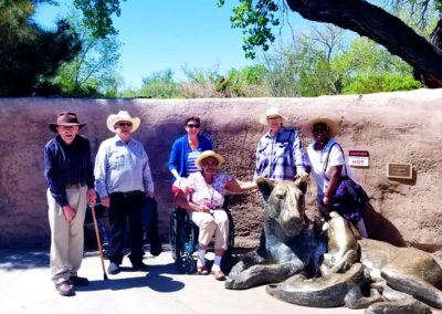 camino assisted living albuquerque residents at zoo