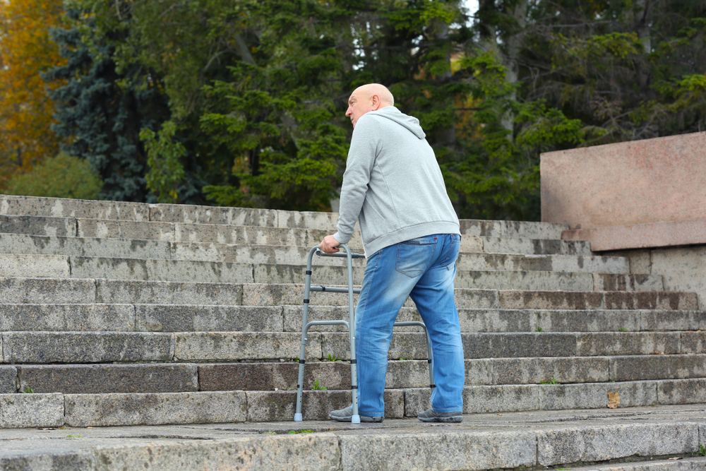 caminowestwind-senior-going-up-stairs-outside