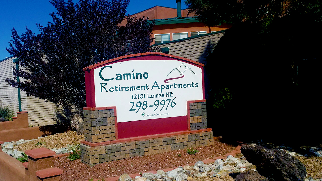 camino-retirement-assisted-living-albuquerque-front-sign